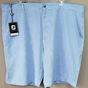 FootJoy Lightweight Houndstooth Shorts Size 42 New